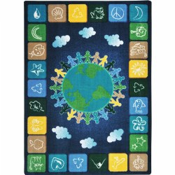 "One World Rug - 5'4"" x 7'8"""