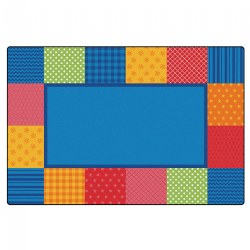 Pattern Blocks Rug