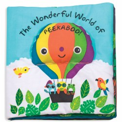 The Wonderful World of Peekaboo - Cloth Book