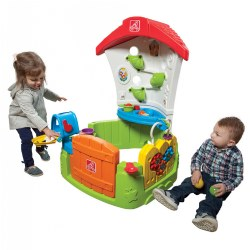 Toddler Corner Play House With Gate, Ball Drop and More