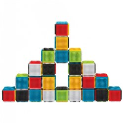 Press & Stay Sensory Blocks - Set of 24