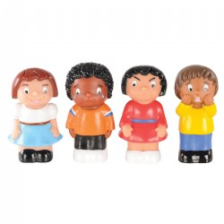 Toddler Emotion Figurines - Set of 4