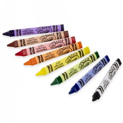 My First Crayola™ Washable Tripod Grip Crayons