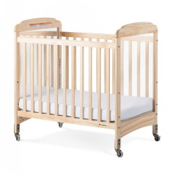 Next Generation Serenity Safereach Compact Fixed Side Clearview Crib