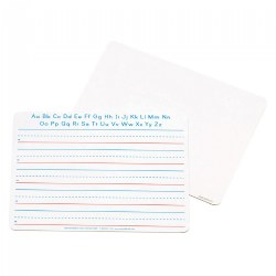 Double-Sided Dry-Erase Board - Lines and Blank - Set of 10