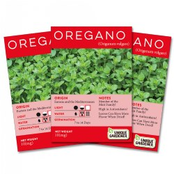 Oregano Seeds 3-Pack