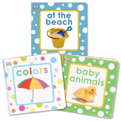Squeaky Vinyl Books - Set of 3