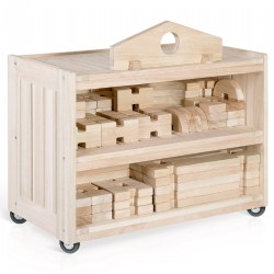 Notch Builders Storage Cart