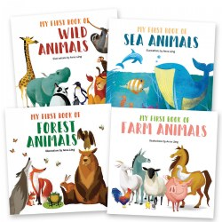 My First Animals Book Set - Board Books