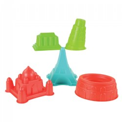 World Landmark Sand Molds - Set of 5