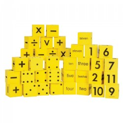 Math Foam Dice Assortment - 36 Pieces