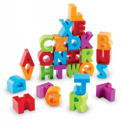 Stacking Letter Blocks