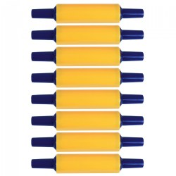 Plastic Rolling Pins - Set of 8