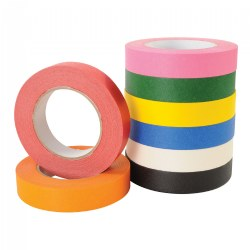 Masking Tape Rolls - 1' x 60 Yards Each