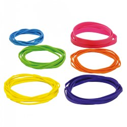 Colored Rubber Bands - 3 oz.