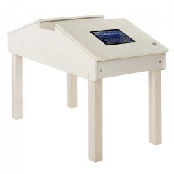 Double Tablet Table