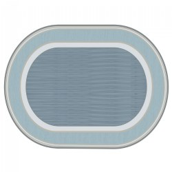 Sense of Place Highland Stripe Oval Carpet - 6' X 9""