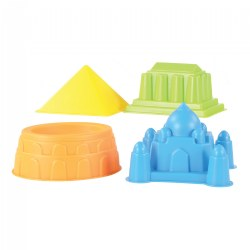 World Landmarks Sand Molds - Set of 4