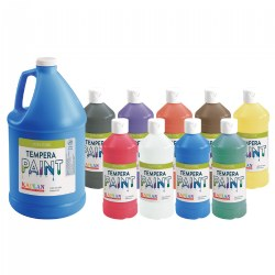 Kaplan Kolors Washable Tempera Paint - 16 oz