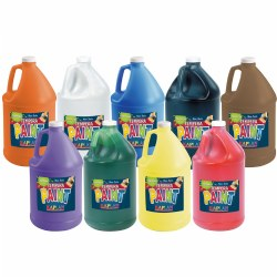 Kaplan Kolors Washable Tempera Paint (Gallon)