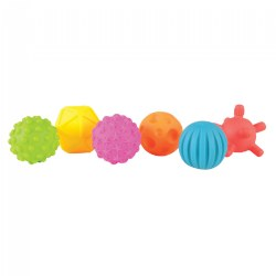 Baby Sensory Ball Set - Set of 6