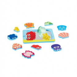 Look N Sea Foam Mirror Symmetry Set - 21 Pieces