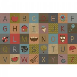 Soft Alphabet Carpets