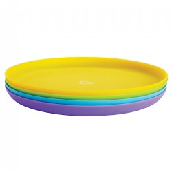 Multicolor Plates - Set of 4