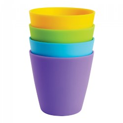 Multicolor Drinking Cups - Set of 8