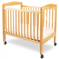 Mini Wood Nonfold Window Crib
