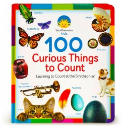 100 Curious Things to Count - Board Book