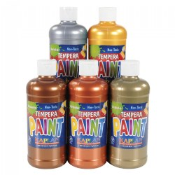 Metallic Tempera 16 oz Paints