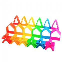Soft Neon 18 Piece Playset