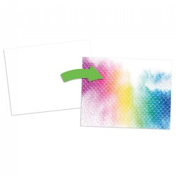 Color Reveal Texture Paper - 96 Sheets