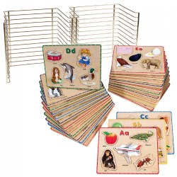ABC Puzzle Set with Wire Rack