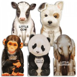 My Little Animal Friends Board Book Set - Set of 5