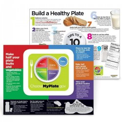 "USDA MyPlate Poster - 24"" x 18"""