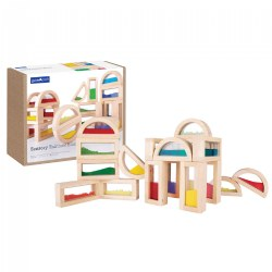 Sensory Rainbow Blocks® - 18 Piece Set