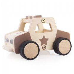 Wooden Police Car