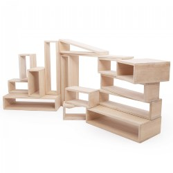 Outdoor Hollow Blocks - 25 Piece Set