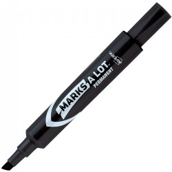 Avery Regular Permanent Black Marker - Set of 12