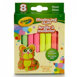 Crayola® 8 CT Modeling Clay - Neon Assortment