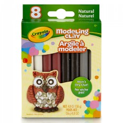 Crayola® 8 CT Modeling Clay - Natural Assortment