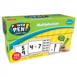 Power Pen Cards - Multiplication