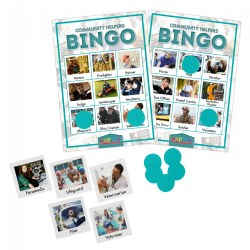 Kaplan Community Helpers Bingo Learning Game