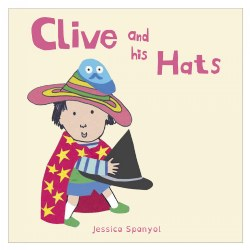Clive and his Hats - Board Book