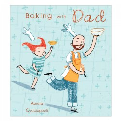 Baking With Dad - Paperback