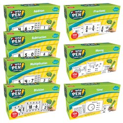 Math Quiz Card Set - Set of 7