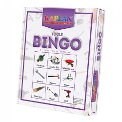 Tool Bingo Cards Matching Learning Game For Kids