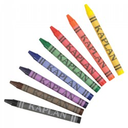 Single Large Crayon Pack - Pack of 8
